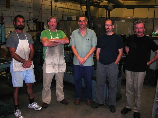 Machine Shop Staff